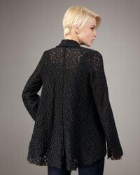 Elizabeth and James | Black Luminista Brocade Jacket | Lyst