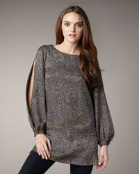 Elizabeth and James   Gray Lindvall Tunic   Lyst