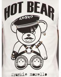 Frankie Morello - White Hot Bear T-shirt for Men - Lyst