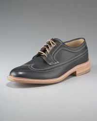 Frye | James Wingtip, Black for Men | Lyst