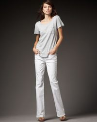 Joe's Jeans | Jenny Muse Boot-cut Jeans, White | Lyst