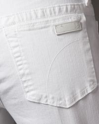 Joe's Jeans - Jenny Muse Boot-cut Jeans, White - Lyst