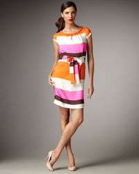 kate spade new york | Multicolor Betty Striped Dress | Lyst
