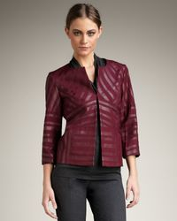 Lafayette 148 New York | Red Sienna Jacket | Lyst
