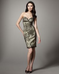 Mandalay | Green Rose Lace Overlay Dress | Lyst