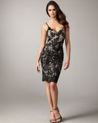 Mandalay | Black V-neck Lace Dress | Lyst