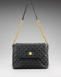 Marc Jacobs - Blue The Single Quilted Bag, Extra Large - Lyst