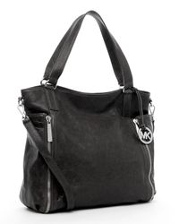 MICHAEL Michael Kors | Crossby Large Tote, Black | Lyst