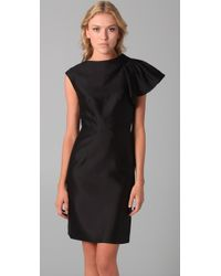 MILLY - Black Fiona Cocktail Dress - Lyst