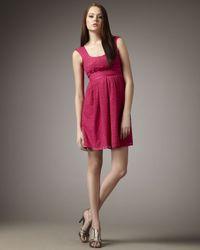 Nanette Lepore | Purple Soundgarden Lace Dress | Lyst