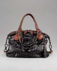 Pauric Sweeney | Black Python Overnight Bag | Lyst