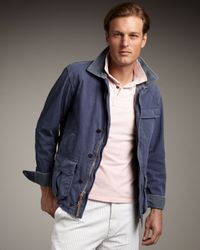 Polo Ralph Lauren | Blue Shelter Canvas Jacket for Men | Lyst