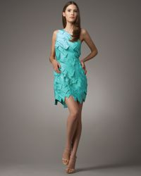 Robert Rodriguez | Blue Faye Layered Dress | Lyst