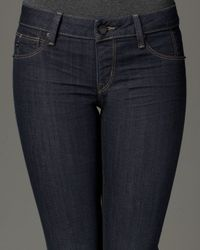 Sold Denim | Blue Astor Place Baking Pull-on Cropped Jeans | Lyst