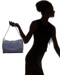 Stella McCartney | Blue Falabella Chain-trim Shoulder Bag | Lyst