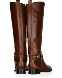 Tory Burch - Brown Aaden Leather Boots - Lyst