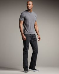 True Religion | Ricky Light Black Jeans for Men | Lyst