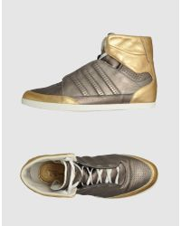 Y-3 | Metallic High-top Sneaker for Men | Lyst
