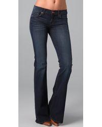 J Brand | Blue Babe Bell Bottom Jeans | Lyst