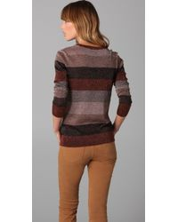 Marc By Marc Jacobs | Red Camino Lurex Sweater | Lyst