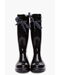 Marc By Marc Jacobs - Black Rain Boots - Lyst