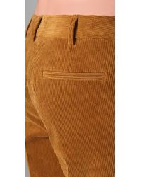 Boy by Band of Outsiders - Brown Wide Leg Corduroy Trousers - Lyst