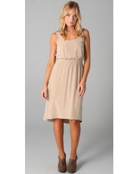 Club Monaco | Natural Doreena Dress | Lyst