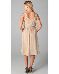 Club Monaco | Natural Doreena Dress | Lyst