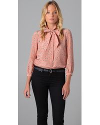 Marc By Marc Jacobs | Pink Kristi Blouse | Lyst