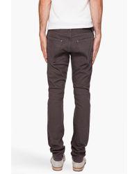 Robert Geller - Gray Slim Ash Jeans for Men - Lyst
