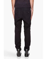 Robert Geller - Black Lounge Pants for Men - Lyst