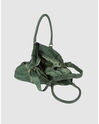 Sissi Rossi - Green Large Leather Bag - Lyst