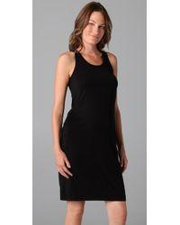 Splendid | Black Maternity Fit Tank Dress | Lyst