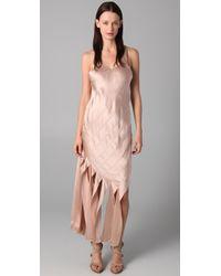 Alexander Wang | Pink Streamer Tank Dress | Lyst