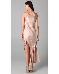 Alexander Wang - Pink Streamer Tank Dress - Lyst