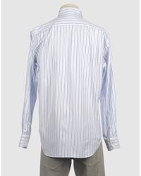 Loro Piana - Blue Long Sleeve Shirt for Men - Lyst