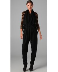 Sonia Rykiel | Black Backless Jumpsuit | Lyst