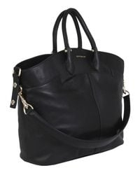 Givenchy | Large Black Leather Tote Bag | Lyst