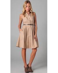 Club Monaco | Natural Tricia Dress | Lyst