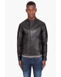 G-Star RAW | Black Marchant Leather Jacket for Men | Lyst