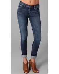 Goldsign | Blue Jenny High Rise Skinny Jeans | Lyst
