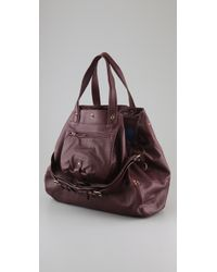 Jérôme Dreyfuss | Purple Billy Large Satchel | Lyst