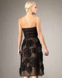 Robert Rodriguez - Black Brittany Rosette Dress - Lyst