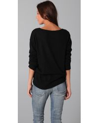 Wildfox - Black Queen Of Hearts Sweater - Lyst