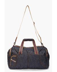DIESEL - Blue Enjoy Duffle Bag for Men - Lyst