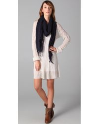 Free People - White Angel Mohair Sweater Dress - Lyst