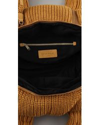 See By Chloé - Brown Joyrider Tricot Small Shoulder Bag - Lyst