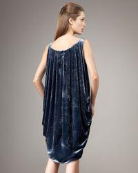Kelly Wearstler - Blue Dendrobium Velvet Dress - Lyst