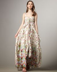 Nanette Lepore - White Sleeveless Front Ruffle Daphne Dress - Lyst