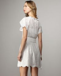 Nanette Lepore   White Mystic Dress   Lyst